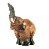 Zobrazit detail - Soška Slon chobot nahoru 8 cm