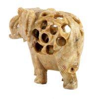Soška Slon kámen 2v1 6,5 cm