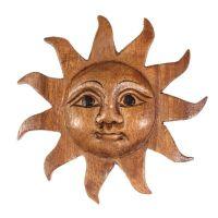Zobrazit detail - Dekorace na stěnu Slunce 13 cm
