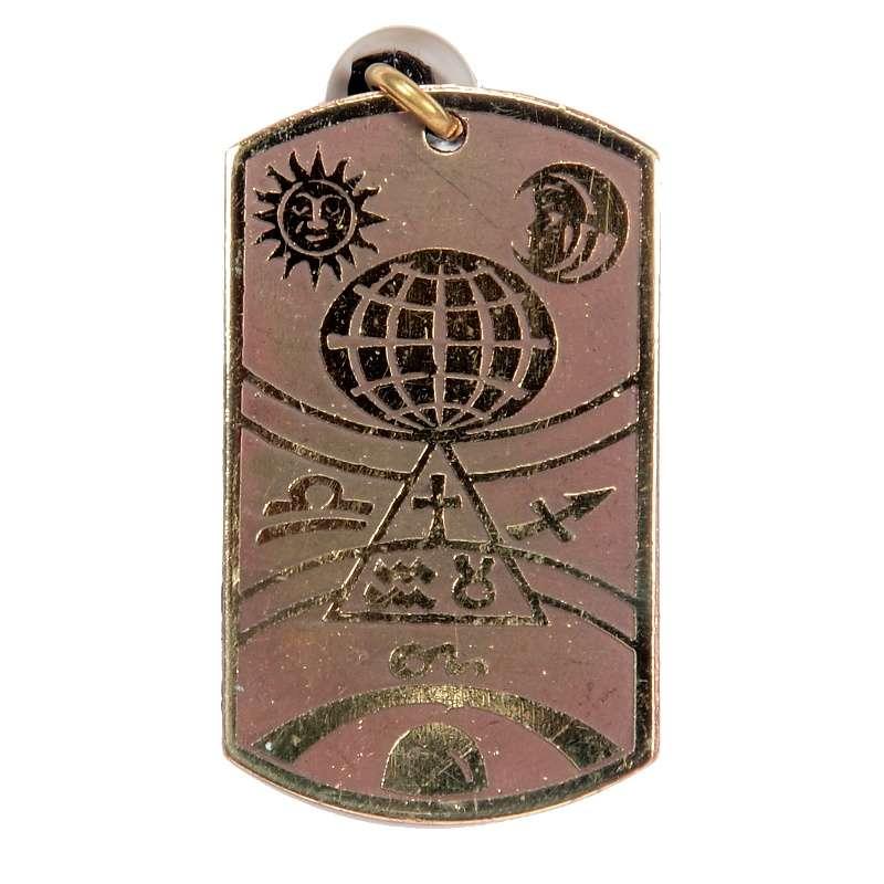 Přívěsek Amulet 03 Astrologický talisman