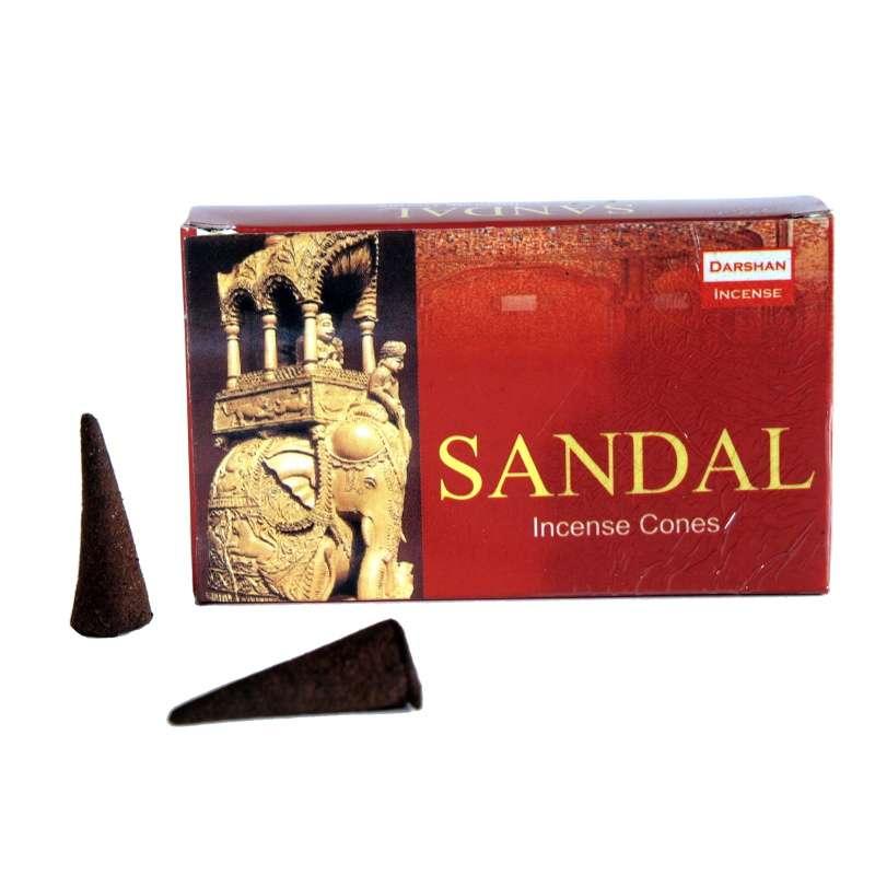 Vonné františky Darshan Santal - Sandal