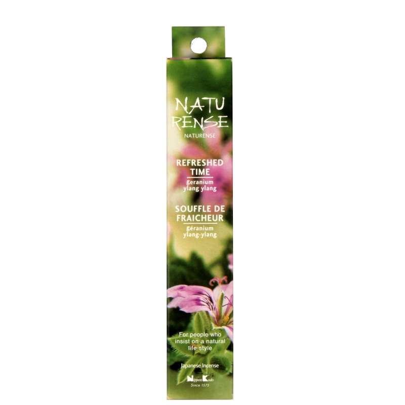 Vonné tyčinky Nippon Kodo Naturense Refreshed time