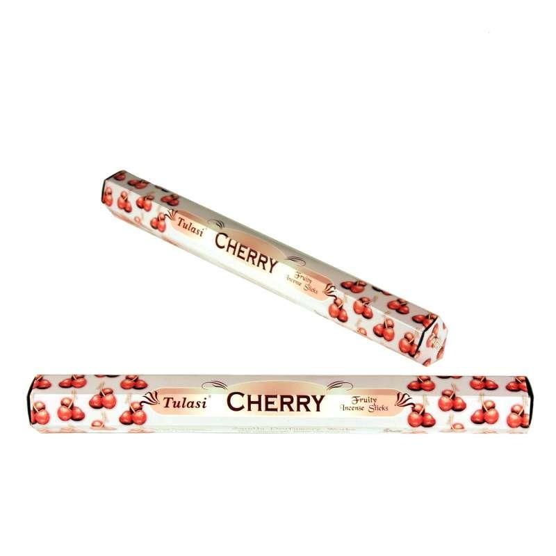 Tulasi Cherry - Višeň indické vonné tyčinky 20 ks