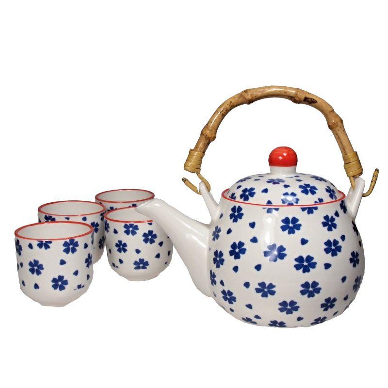 Čajová souprava Chrpa porcelánová Japan