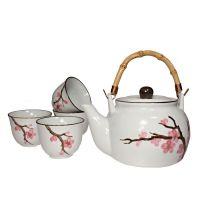 Čajová souprava Sakura 0,9 l porcelánová