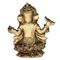 Soška Ganéša (Ganesh) resin 09 cm Čína
