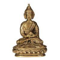 Soška Buddha kov 10 cm IV