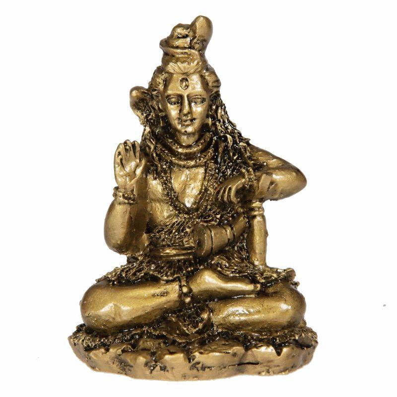 Soška Shiva resin 6 cm Čína