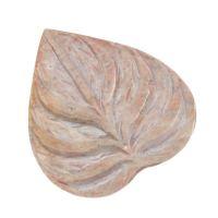 Stojánek na vonné tyčinky kamenný List Indie