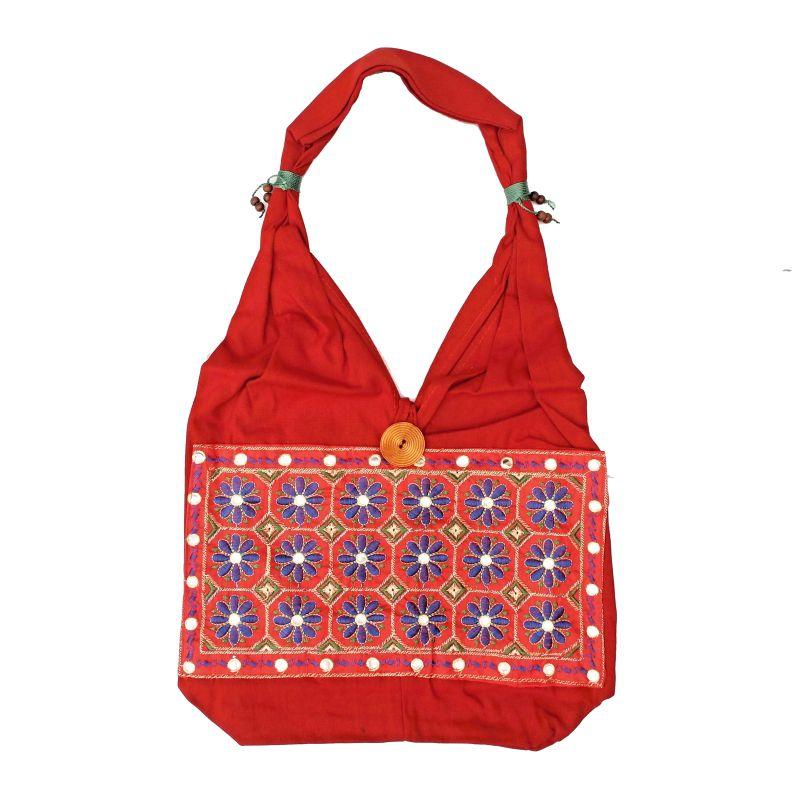 Taška přes rameno Spring červená Indie