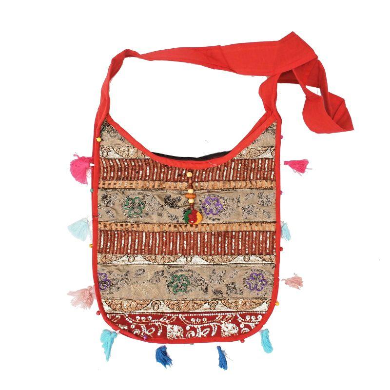Taška přes rameno Zany B červená Indie
