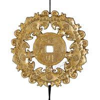 Zvonkohra trubková s mincemi a netopýry Čína