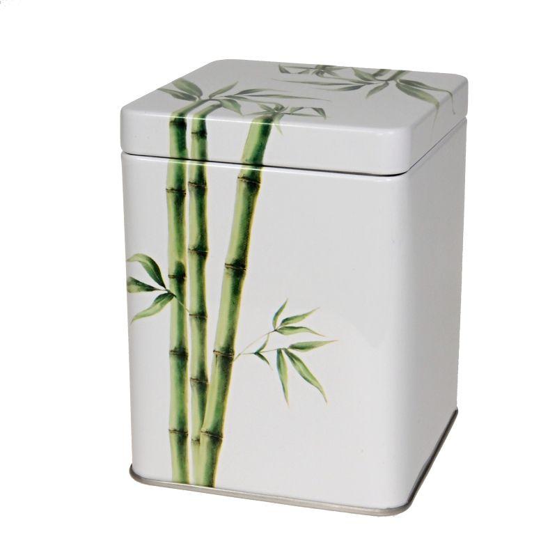 Dóza na čaj Bamboo 100 g plech EU