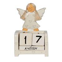 Kalendář Anděl 11 cm