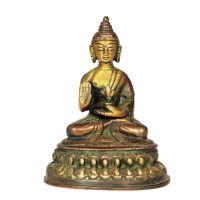 Soška Buddha kov 10 cm V