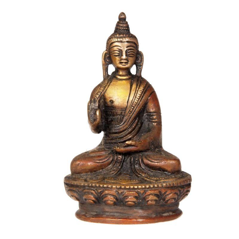 Soška Buddha kov 11 cm Indie