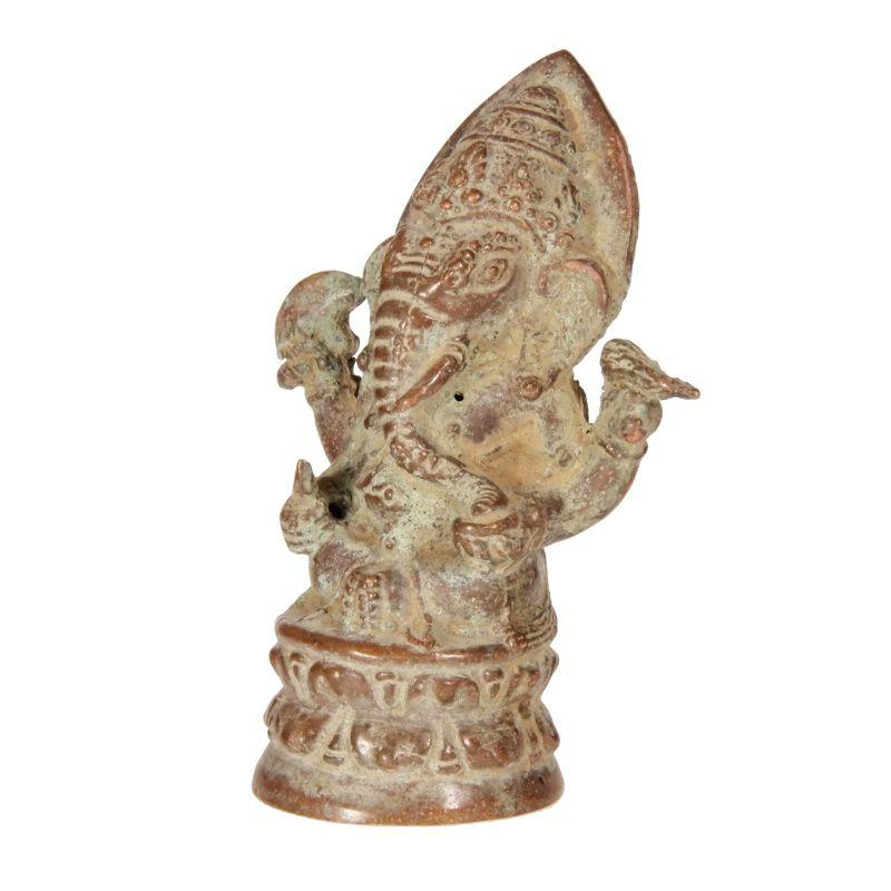 Soška Ganéša kov 09 cm Barong Indonesie