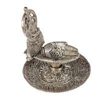 Stojánek na vonné františky kovový Dlaně Bodhisattva Indie