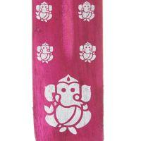 Stojánek na vonné tyčinky - lyže Hindu Ganesh fialový Indie