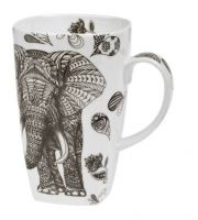 Hrnek Černý slon 600 ml
