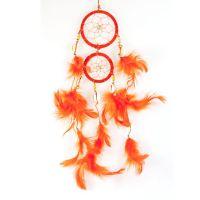 Lapač snů 06 cm VII oranžový