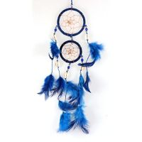 Lapač snů 06 cm VII modrý