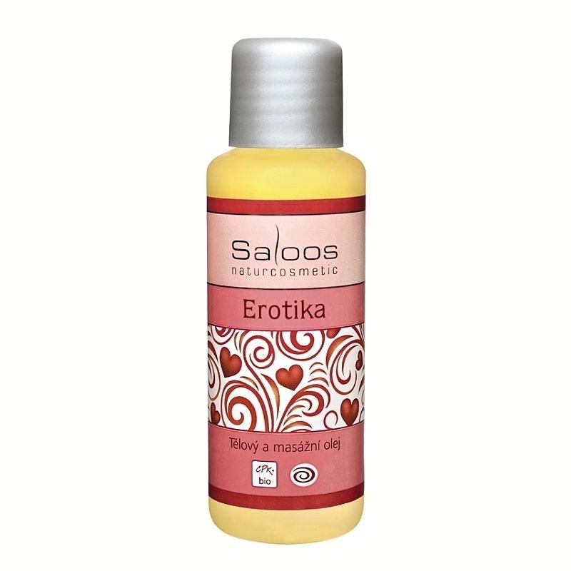 Saloos tělový a masážní olej Erotika 50 ml