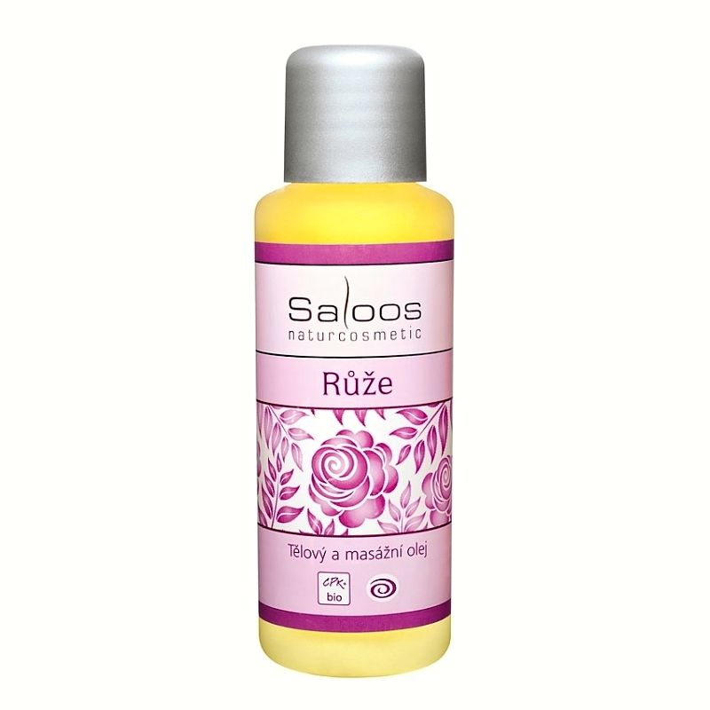 Saloos tělový a masážní olej Růže 50 ml