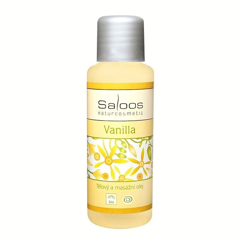 Saloos tělový a masážní olej Vanilla 50 ml