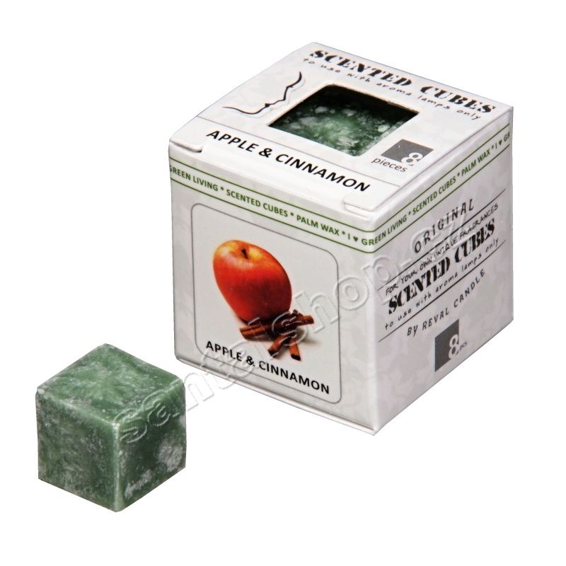 Scented cubes vonný vosk Apple & cinnamon (jablko a skořice) Ostuweb OÜ