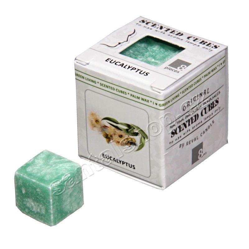 Scented cubes vonný vosk Eucalyptus (blahovičník) Ostuweb OÜ