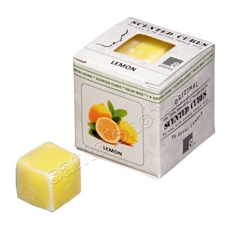 Scented cubes vonný vosk Lemon (citrón)