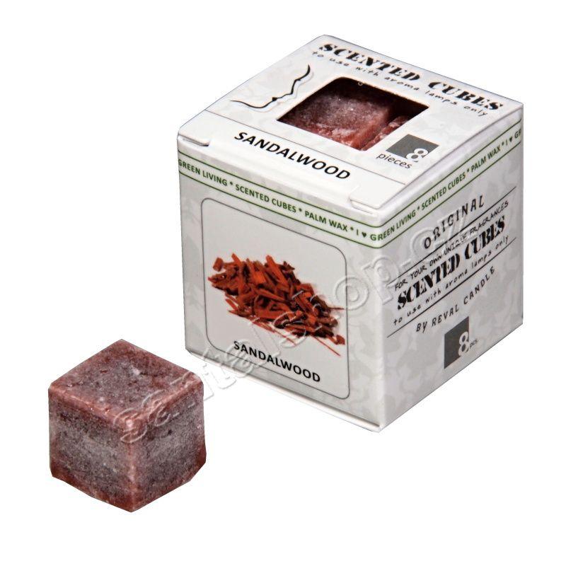 Scented cubes vonný vosk Sandalwood (santalové dřevo) Ostuweb OÜ