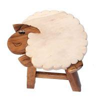 Stolička Ovce 25 cm Thajsko