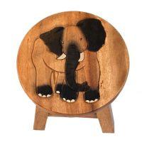 Stolička Slon 25 cm Thajsko