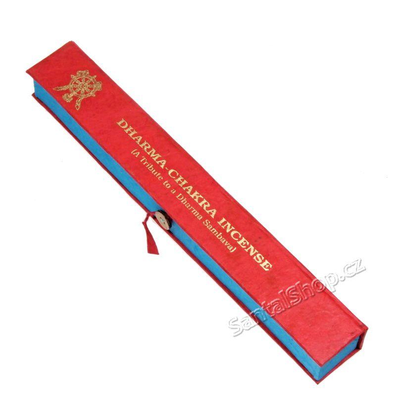 Tibetské vonné tyčinky Tributes Dharma Chakra Tibetan incense