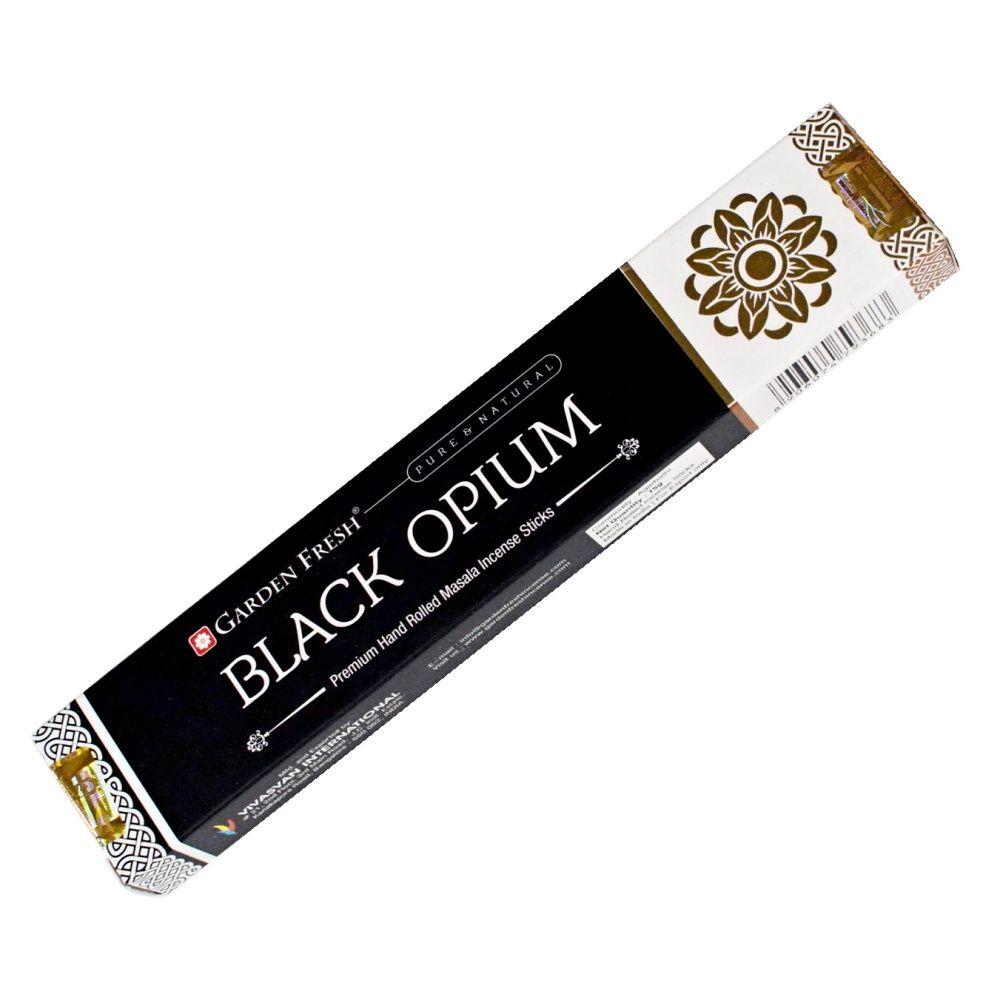 Garden Fresh Black opium indické vonné tyčinky 15 g