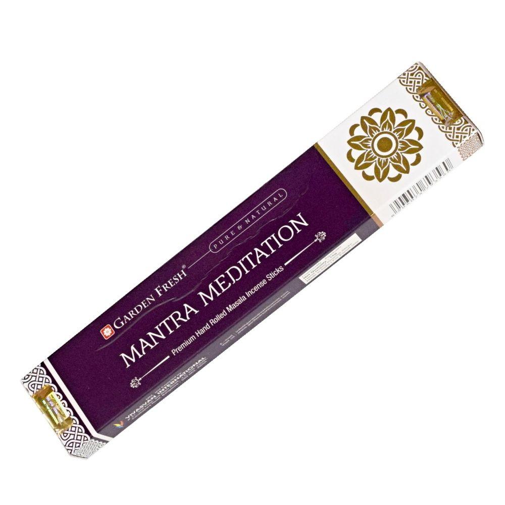 Garden Fresh Mantra meditation indické vonné tyčinky 15 g