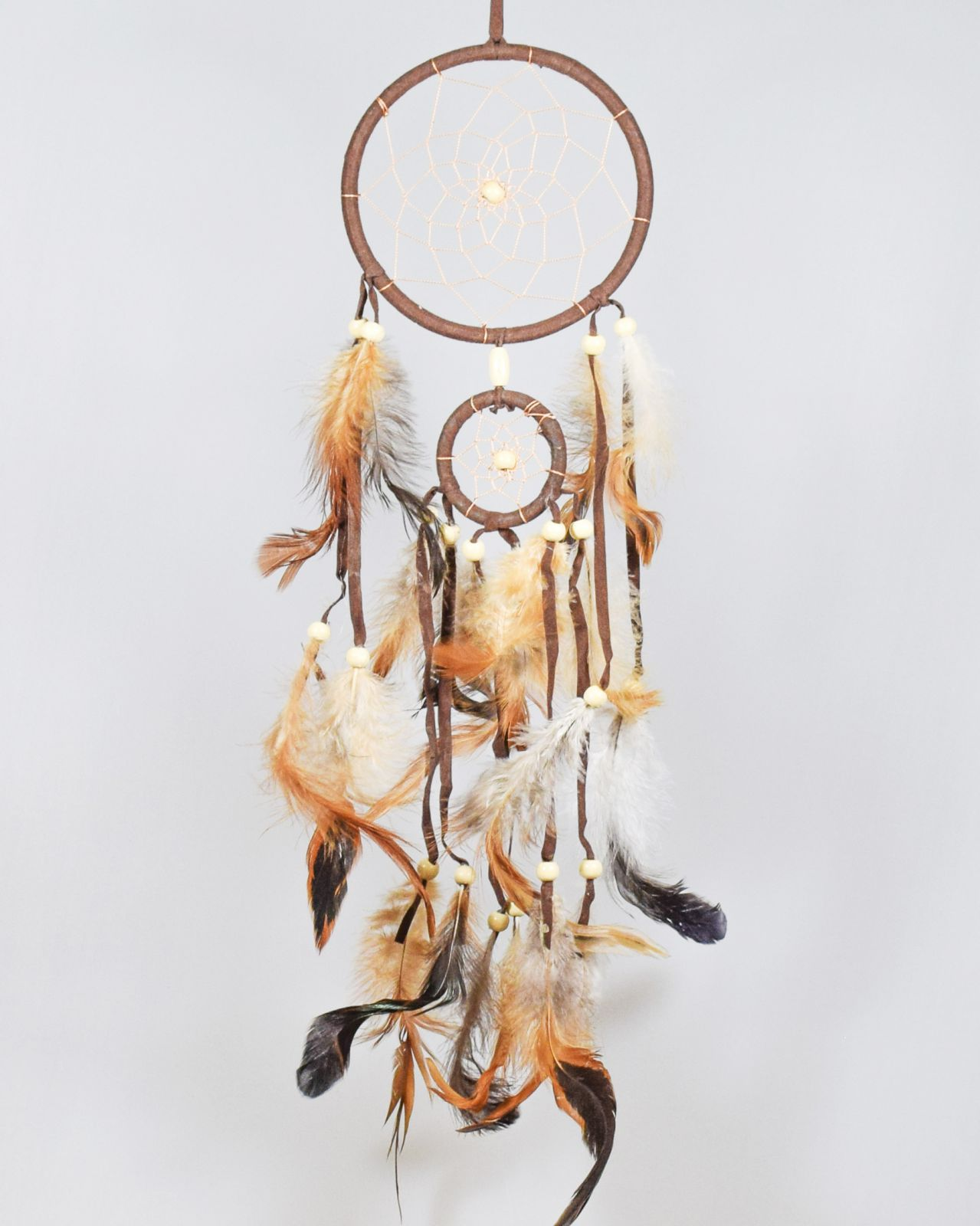 Lapač snů 11 cm hnědý Indonesie