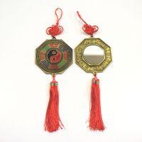 Ochranný závěs zrcátko bagua a jin jang