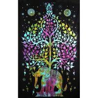 Přehoz Slon barevný 210 x 140 cm
