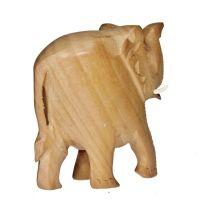 Soška Slon dřevo 08 cm hladký Indie