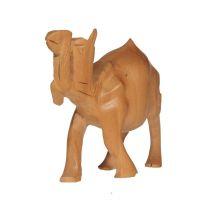 Soška Velbloud dřevo 08 cm Indie