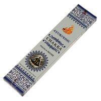 Vonné tyčinky Ayurvedic Chakra 15 ks