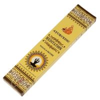 Vonné tyčinky Ayurvedic Meditation 15 ks