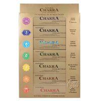 Vonné tyčinky Chakra collection - 7 čaker sada 7 x 14 ks