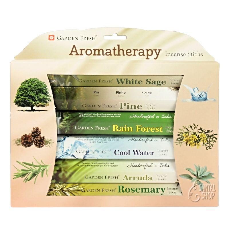 Garden Fresh Aromatherapy indické vonné tyčinky 6 x 20 ks