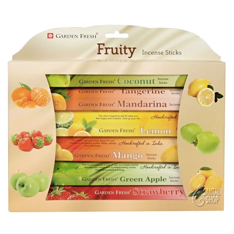Garden Fresh Fruity indické vonné tyčinky 6 x 20 ks