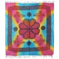 Přehoz Motýli pestrobarevný 225 x 210 cm