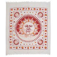 Přehoz Slunce bílý 240 x 215 cm